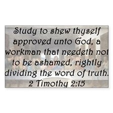 2 Timothy 2:15 Decal