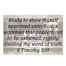 2 Timothy 2:15 Postcards (Package of 8)