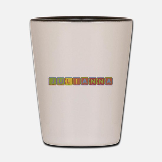 Julianna Foam Squares Shot Glass