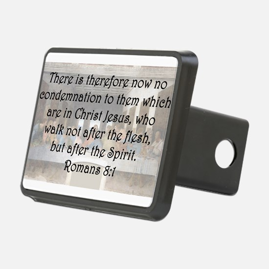 Romans 8:1 Hitch Cover