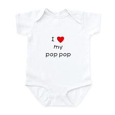 I love my pop pop Onesie