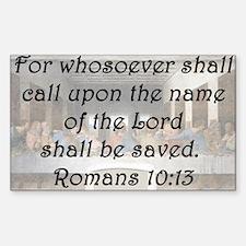 Romans 10:13 Decal