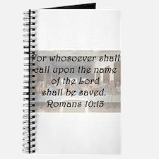 Romans 10:13 Journal