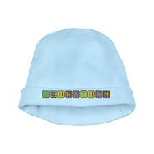 Johnathan Foam Squares baby hat