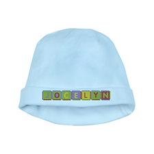 Jocelyn Foam Squares baby hat