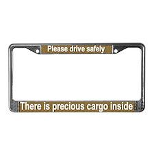 """""""Precious Cargo"""" License Plate Frame"""