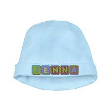 Jenna Foam Squares baby hat
