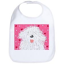 Heart Sheepdog Bib