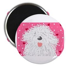 Heart Sheepdog Magnet