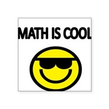 MATH IS COOL 2 Sticker