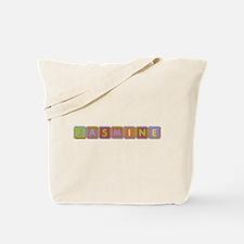 Jasmine Foam Squares Tote Bag