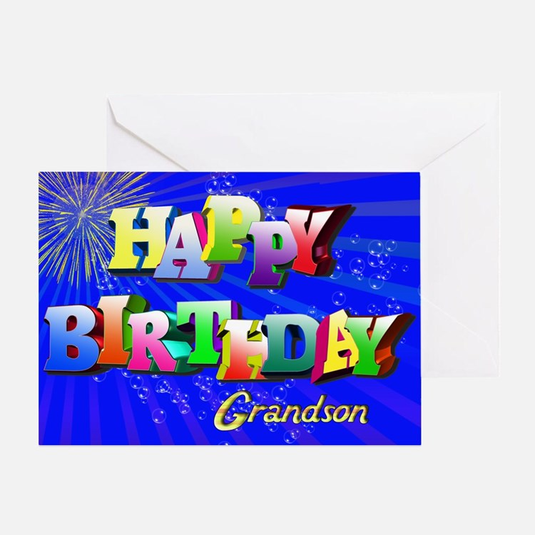 Grandson Birthday Greeting Cards – Birthday Cards Grandson
