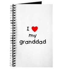 I love my granddad Journal