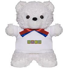 Jack Foam Squares Teddy Bear