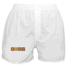 Ivan Foam Squares Boxer Shorts