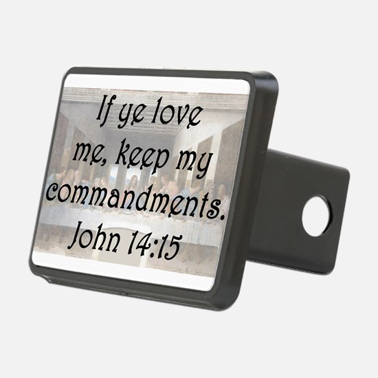 John 14:15 Hitch Cover