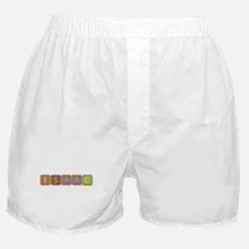 Isaac Foam Squares Boxer Shorts