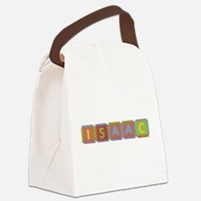 Isaac Foam Squares Canvas Lunch Bag
