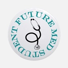 Future Med Student Ornament (Round)