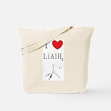 I Heart Lithium Aluminum Hydride (icon) Tote Bag