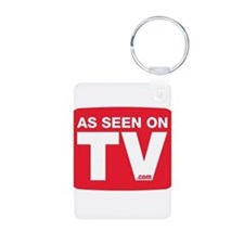 As Seen On TV Logo Keychains