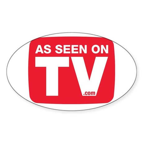 As Seen On TV Logo Sticker