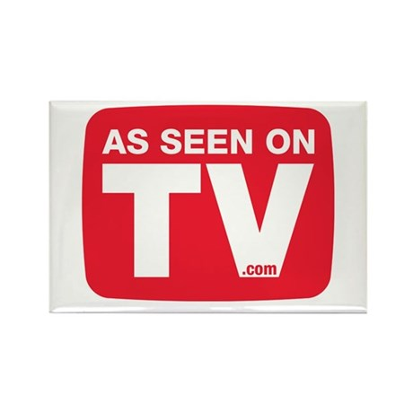 As Seen On TV Logo Rectangle Magnet