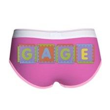 Gage Foam Squares Women's Boy Brief