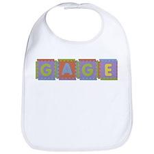 Gage Foam Squares Bib
