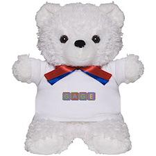 Gage Foam Squares Teddy Bear