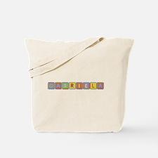 Gabriela Foam Squares Tote Bag