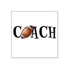 Football Coach Sticker