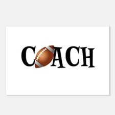 Football Coach Postcards (Package of 8)