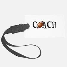 Football Coach Luggage Tag