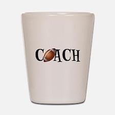 Football Coach Shot Glass