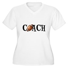 Football Coach Plus Size T-Shirt