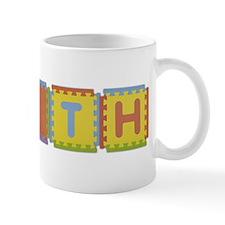 Faith Foam Squares Mug