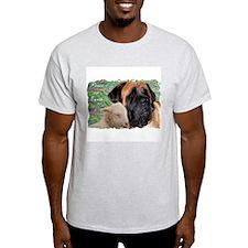 Apricot Peace 2 Ash Grey T-Shirt