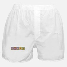 Emery Foam Squares Boxer Shorts