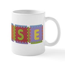 Elise Foam Squares Mug