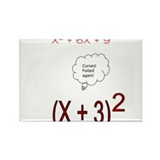 Foiled Again Rectangle Magnet (100 pack)