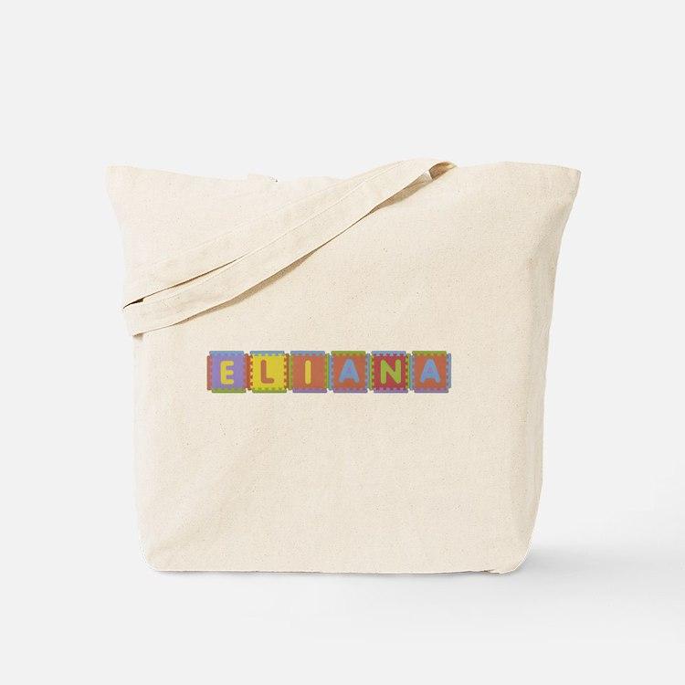 Eliana Foam Squares Tote Bag