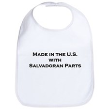 Made in the U.S. with Salvadoran Parts Bib