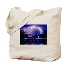 LET THE THUNDER ROLL Tote Bag