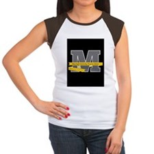 """Meyerhoff """"M"""" with Langston Hughes Quote T-Shirt"""