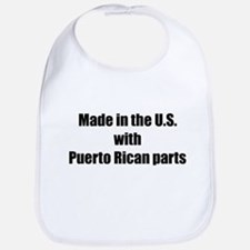 Made in the U.S. with Puerto Rican Parts Bib