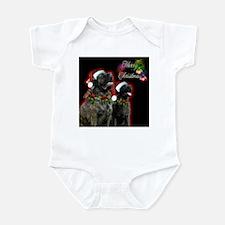 Brindle Merry XMas Infant Bodysuit