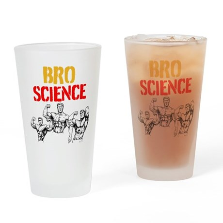 BROSCIENCE Drinking Glass