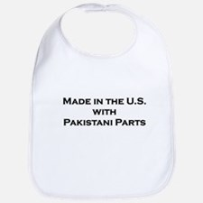 Made in the U.S. with Pakistani Parts Bib