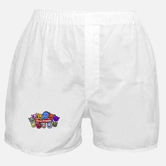 Feral Friends Boxer Shorts